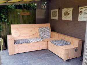Comfortabele maatwerk loungebanken